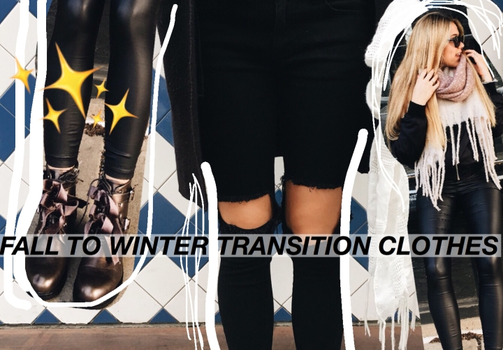 Fall->Winter Wardrobe Essentials