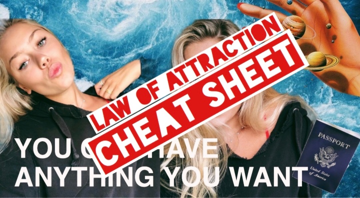 The Law Of Attraction: Cheat Sheet