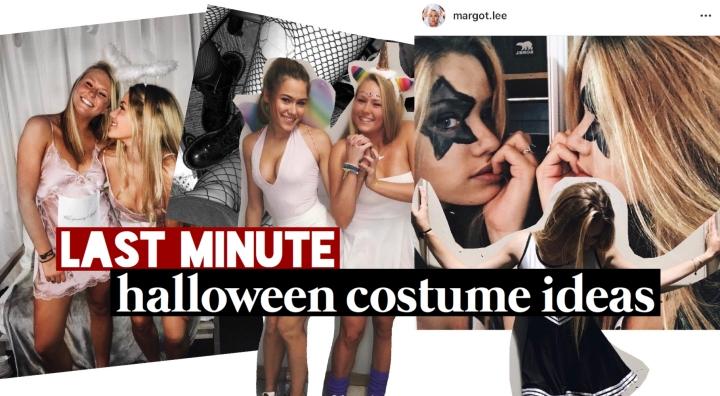 EXTREMELY Last Minute HalloweenCostumes