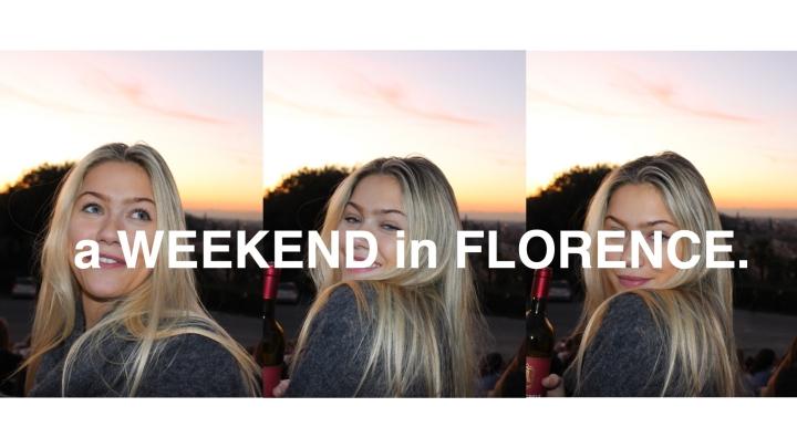 Florence Weekender Guide