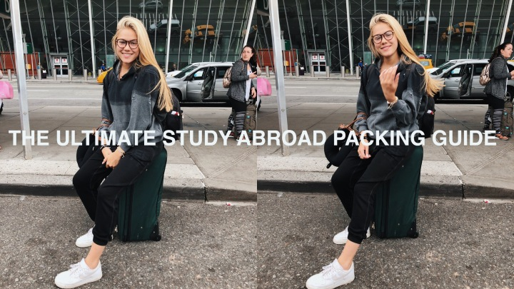 How to Pack for Study Abroad + PackingList